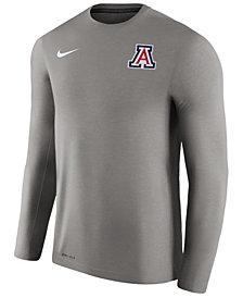 Nike Men's Arizona Wildcats Dri-Fit Touch Longsleeve T-Shirt