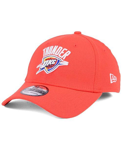 New Era Oklahoma City Thunder Team Classic 39THIRTY Cap