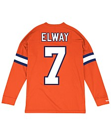 Mitchell & Ness Men's John Elway Denver Broncos Retro Player Name & Numer Longsleeve T-Shirt