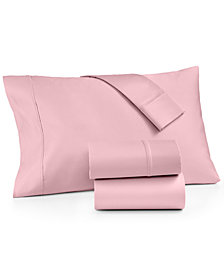 CLOSEOUT! AQ Textiles Devon 4-Pc. Full Sheet Set, 900 Thread Count, Created for Macy's