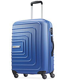 "CLOSEOUT! American Tourister Xpressions 24"" Expandable Hardside Spinner Suitcase, Created for Macy's"