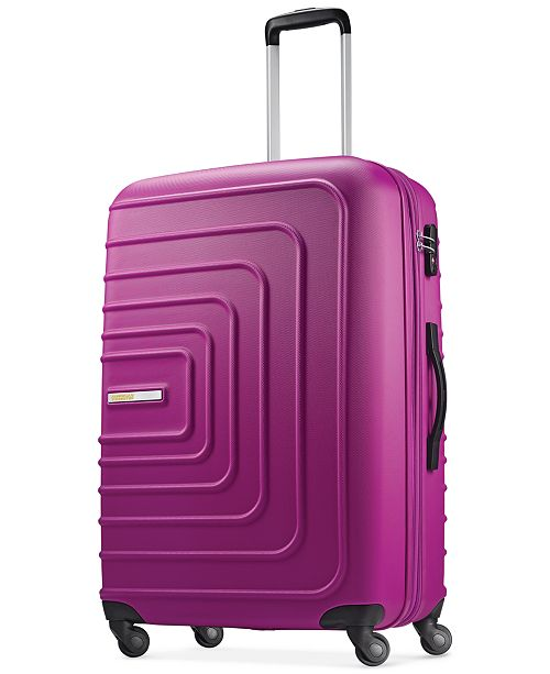 "American Tourister CLOSEOUT! Xpressions 28"" Expandable Hardside Spinner Suitcase, Created for Macy's"