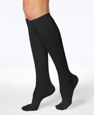 Wellness Women's Compression Firm-Support Knee-High Socks