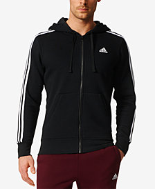 adidas Men's Essential Fleece Zip Hoodie
