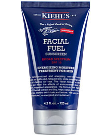 Kiehl's Since 1851 Facial Fuel Energizing Moisture Treatment For Men Sunscreen SPF 15, 4.2-oz.
