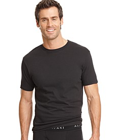 men's underwear, tagless crew neck Undershirt 3 pack