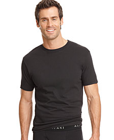 alfani men's underwear, tagless crew neck Undershirt 3 pack