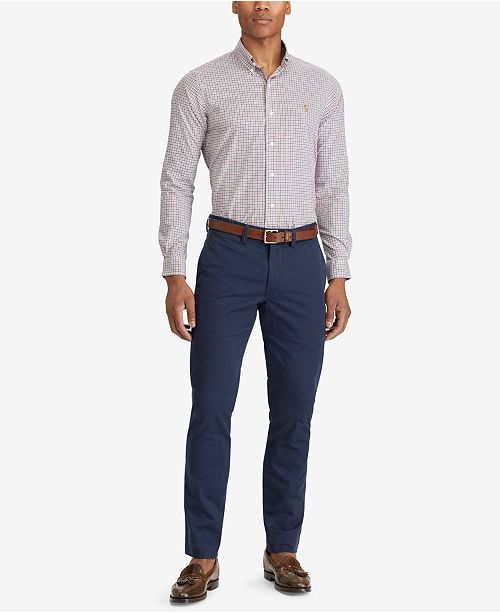 81e0492f293 ... Polo Ralph Lauren Men s Straight-Fit Bedford Stretch Chino Pants ...