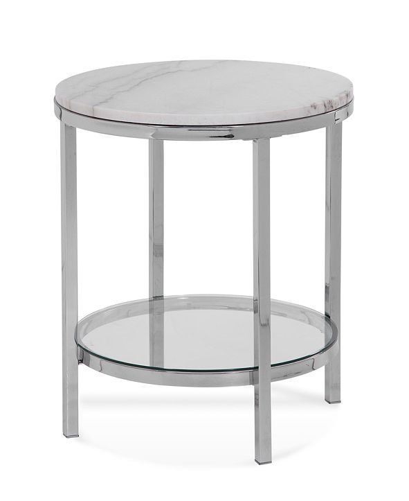Furniture Volko Round End Table