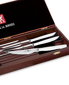 Zwilling J.A. Henckels TWIN® Gourmet 8-Piece Stainless Steak Knife Set