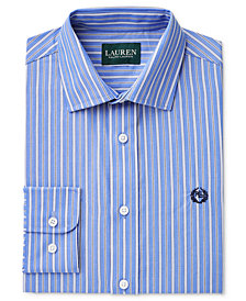 Lauren Ralph Lauren Vertical Multi-Stripe Shirt, Big Boys