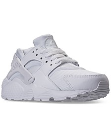 Big Kids Huarache Run Running Sneakers from Finish Line