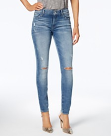 M1858 Kristen Ripped Skinny Jeans, Created for Macy's