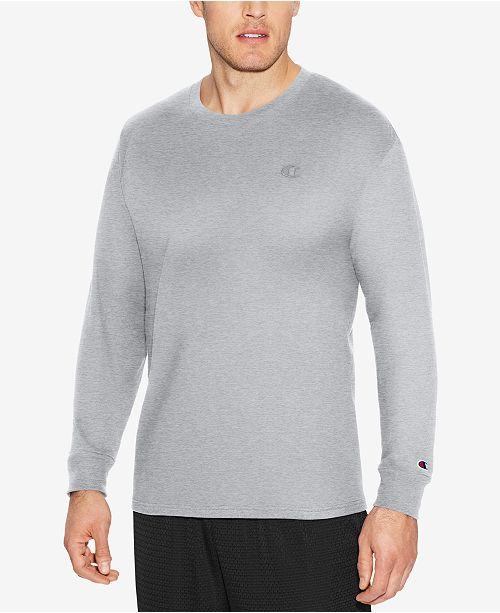 Champion Men's Long-Sleeve Jersey T-Shirt