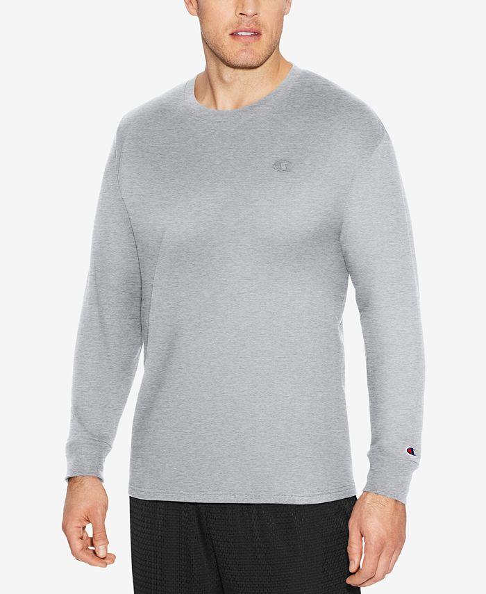 Champion - Men's Long-Sleeve Jersey T-Shirt