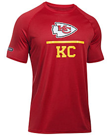 Under Armour Men's Kansas City Chiefs Lockup Tech T-Shirt