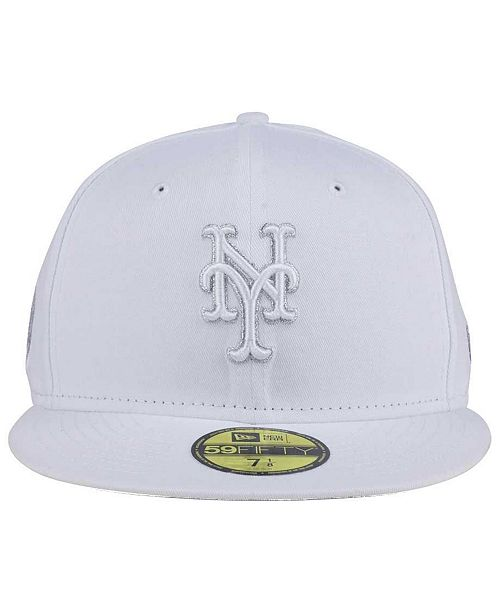 new product a3e6d cfdf5 ... wholesale new era new york mets pure money 59fifty fitted cap sports  fan shop by lids