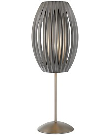 """Lite Source Pleated 25"""" Table Lamp"""