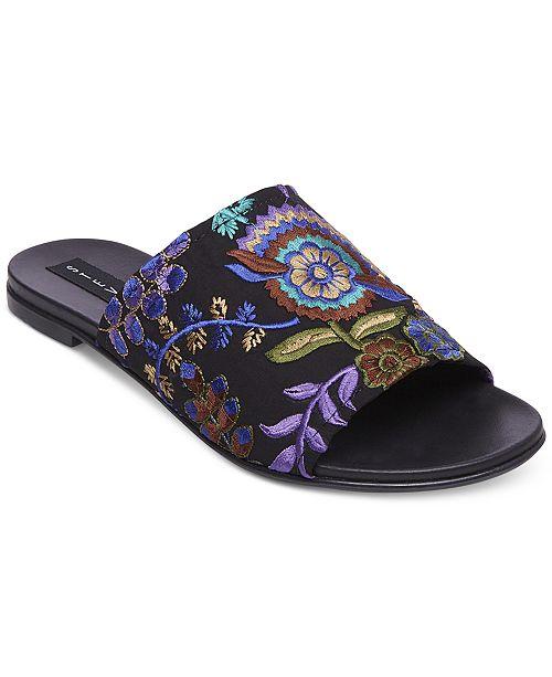 170e5c1ed4f2 STEVEN by Steve Madden Women s Cushion Embroidered Sandals ...