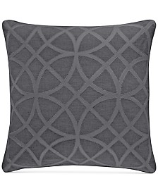 """CLOSEOUT! Hotel Collection Connection Indigo 22"""" Square Decorative Pillow, Created for Macy's"""