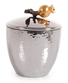 Michael Aram Pomegranate Sugar Pot with Spoon