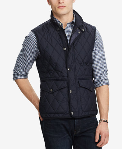 Polo Ralph Lauren Men's Iconic Quilted Vest - Coats & Jackets ... : ralph lauren quilted vest mens - Adamdwight.com