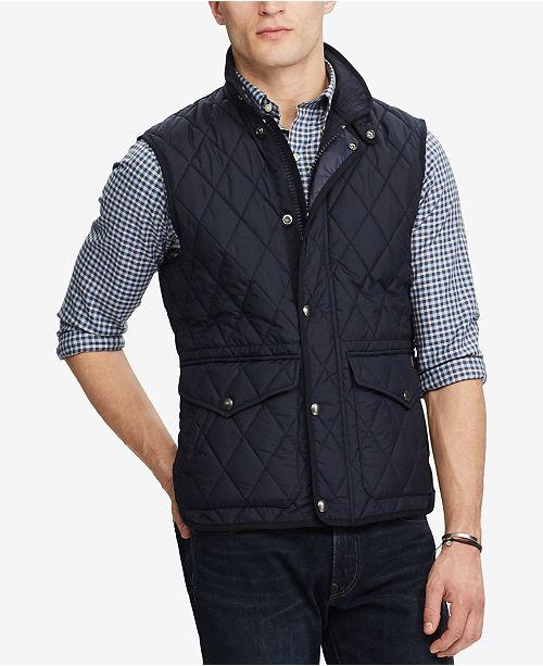 Polo Ralph Lauren Men S Iconic Quilted Vest Coats