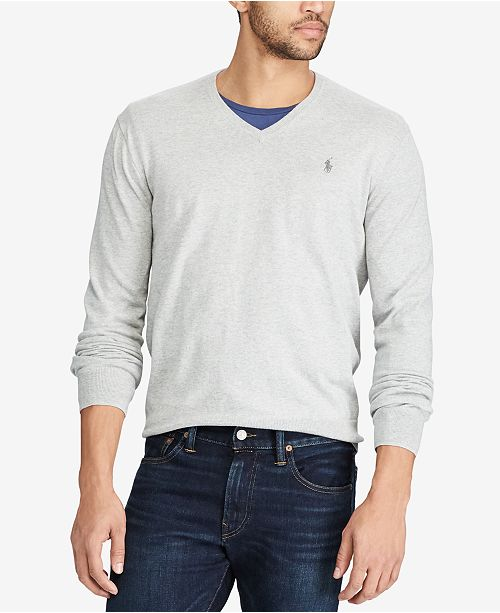 041749fa99d24 Polo Ralph Lauren Men s V-Neck Sweater   Reviews - Sweaters ...