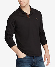 Black Mens Polo Shirt