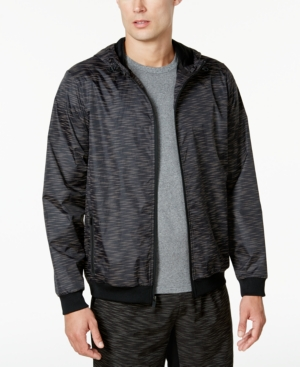 Id Ideology Men's Reflective Printed Windbreaker, Created for Macy's