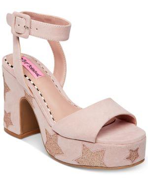 Betsey Johnson Claude Dress Sandals Women