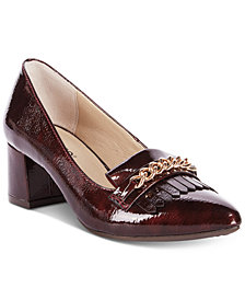 Rialto Marshall Block-Heel Dress Pumps