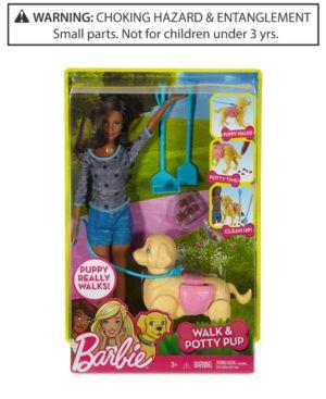 Mattel's Barbie Walk & Potty Pup 4889967
