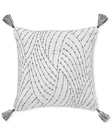 "CLOSEOUT! Croscill Eleyana 16"" Square Decorative Pillow"