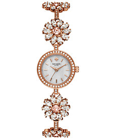kate spade new york Women's Daisy Chain Rose Gold-Tone Stainless Steel Bracelet Watch 20mm