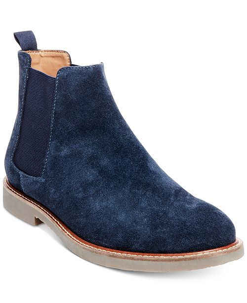 909dfadeec9b Steve Madden Men s Hyghline Suede Chelsea Boots   Reviews - All ...