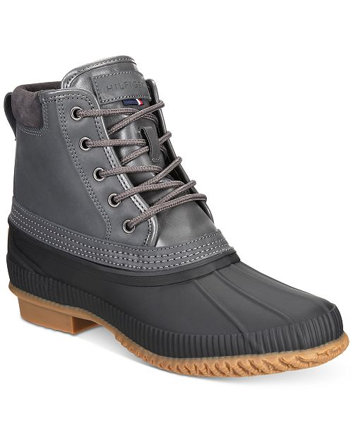 Tommy Hilfiger Men's Casey Waterproof Duck Boots