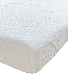 "Sleep Trends Sofia Plush Gel 7"" Mattress, Quick Ship, Mattress in a Box - Full"