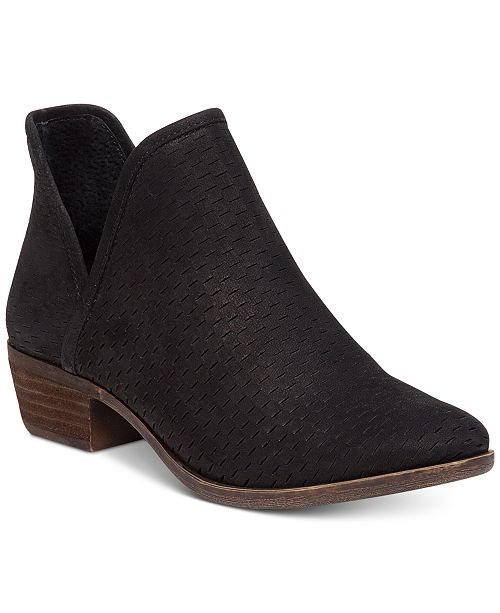 Lucky Brand Baley Perforated Chop Out Booties