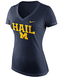 Nike Women's Michigan Wolverines Local Phrase V T-Shirt