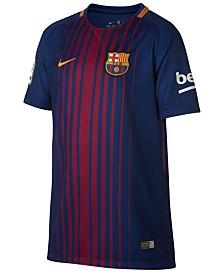 Nike FC Barcelona Club Team Home Stadium Jersey, Big Boys (8-20)
