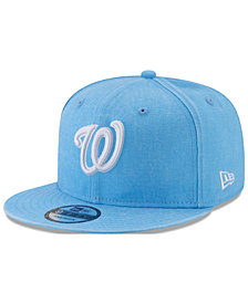 New Era Washington Nationals Neon Time 9FIFTY Snapback Cap