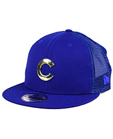 New Era Chicago Cubs Color Metal Mesh Back 9FIFTY Cap