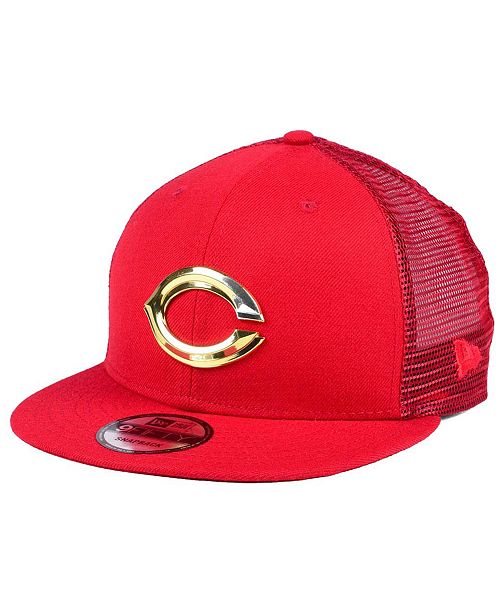 cheap for discount 87148 9f688 New Era. Cincinnati Reds Color Metal Mesh Back 9FIFTY Cap. Be the first to  Write a Review. main image ...