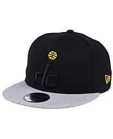 New Era Washington Wizards Gold Tip Off 9FIFTY Snapback Cap