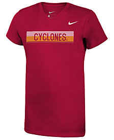 Nike Girls' Iowa State Cyclones Legend V-Neck Mascot T-Shirt