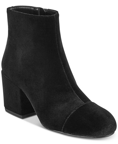 CHARLES by Charles David Quincey Block-Heel Booties