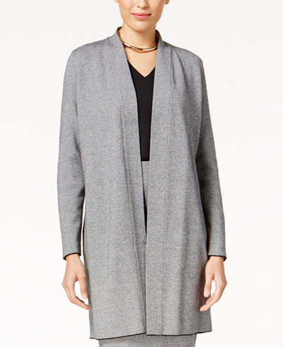 Alfani Shawl-Collar Sweater Coat, Created for Macy's