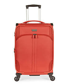 """Antler Aire DLX 21"""" Softside Expandable Spinner Suitcase"""
