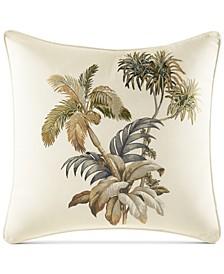 "Nador Embroidered 16"" Square Decorative Pillow"